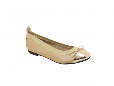 ROC Camelia Platinum ballet shoes