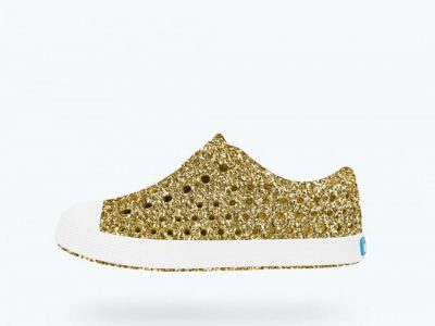 Native Shoes Jefferson Child Gold Bling