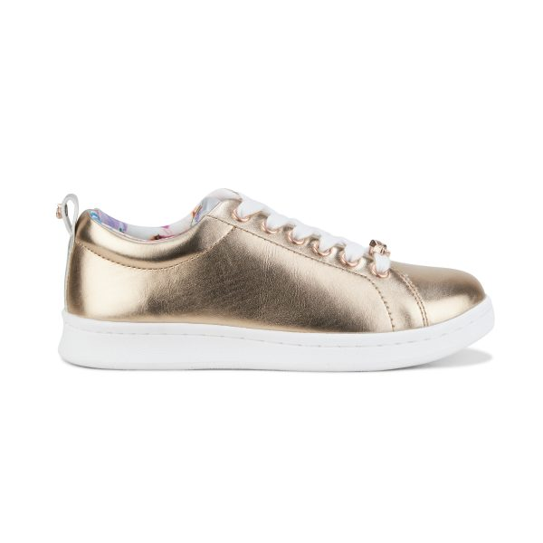 Clarks Duffy Rose Gold