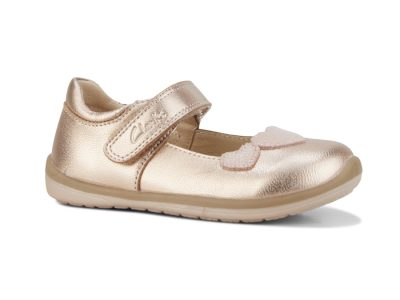 Clarks Mara Rose Gold