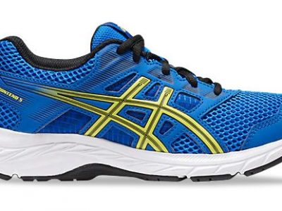 ASICS Contend 5 GS Illusion Blue Lemon Spark