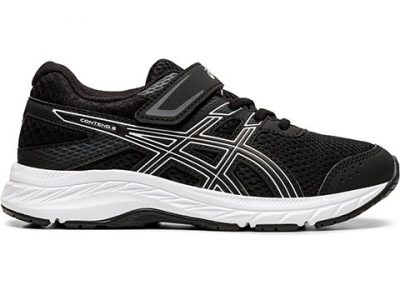 Asics Contend 6 PS Black White