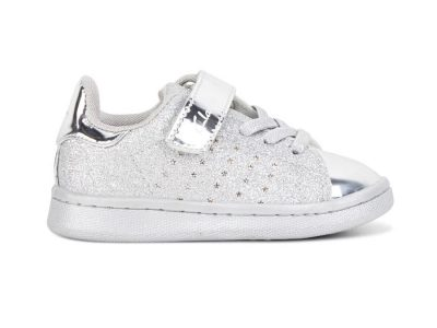 Clarks Disco Junior Glitter Silver